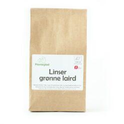 Økologiske Linser grønne laird