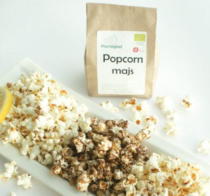 Økologiske popcorn